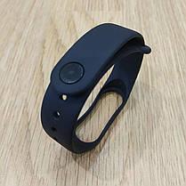 Ремешок для Фитнес-Трекера,  XIAOMI MI BAND 3 / 4 одноцветный - черный, фото 3