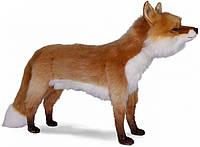 Hansa - Реалистичная мягкая игрушка, Лиса, серия Animal Seat, 90 см