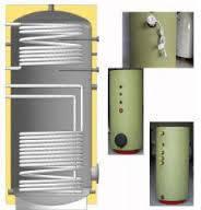 Бойлер косвенного нагрева KHT BT-11-1500 с двумя теплообменниками