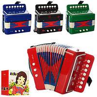 Гармошка для детей 133 музыкальный игровой инструмент