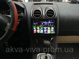 Штатная магнитола Nissan Qashqai 2008-2015г.на базе Android 8.1 Экран 9 дюймов Память 1/16 Гб