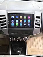 """Штатная Магнитола Mitsubishi Outlander 2008-2014 на Android 9.1  с 9"""" Экраном 1/16Память,4 ядра Процессор"""