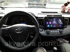 """Штатная Магнитола Toyota Rav4 2012-2016 на Android 8.1  с 10"""" Экраном 1/16Память,4 ядра Процессор"""