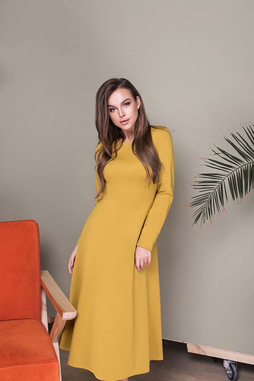 Платье LiLove 033-1 46 фисташковый
