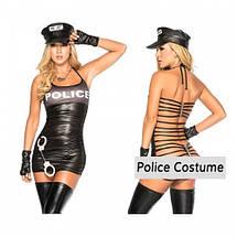 Костюм полицейской с открытой спиной The Police Woman, фото 2