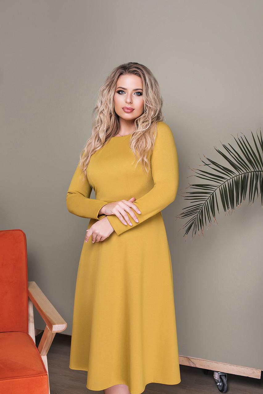 Платье LiLove 033-1 50 фисташковый