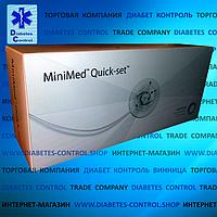 Катетеры для инсулиновой помпы Quick-Set Medtronic 9/110 (Инфузионный набор) 10 шт.