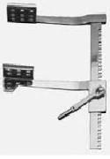 """Р-37 Ранорасширитель рейковий для грудної порожнини з витратою дзеркал до 209 мм, 8 1/4 """""""