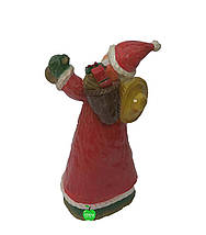 Новогодняя садовая фигура Дед Мороз с корзиной, фото 2