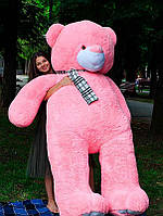 Плюшевый Мишка Ветли 250см.Большой Мишка игрушка Плюшевый медведь Мягкие мишки игрушки Ведмедик (Розовый), фото 1