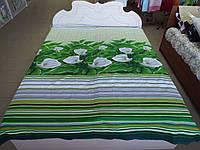 Ткань для пошива постельного белья бязь премиум Каллы