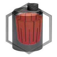 Графитовый тигель Opticom V03/F03/A03