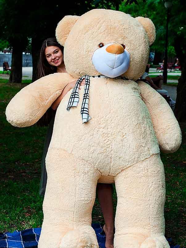 Плюшевый Мишка Ветли 250см.Большой Мишка игрушка Плюшевый медведь Мягкие мишки игрушки Ведмедик