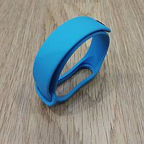 Ремешок для Фитнес-Трекера,  XIAOMI MI BAND 3 / 4 одноцветный - Blue  -  Голубой, фото 3