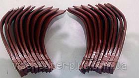 Комплект ножів фрези для мотоблока Q78/Q79 водне охолодження! Личаки