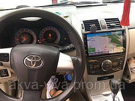 """Штатная Магнитола Toyota Corolla 2007-2013 на Android 8.1  с 9"""" Экраном 1/16Память,4 ядра Процессор"""