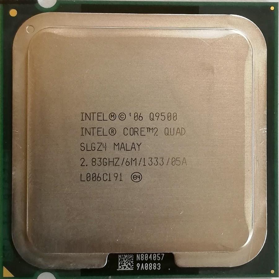 Процессор Intel Core 2 Quad Q9500 R0 SLGZ4 2.83GHz 6M Cache 1333 MHz FSB Socket 775 Б/У