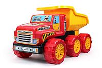 Большой детский самосвал. Игрушка для мальчиков. Детская грузовая машина.