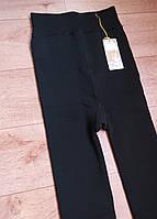 Подростковые термо лосины Шубка на плотном меху черные. Шугуан (140-152 р), фото 1