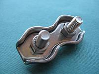 Нержавеющий двойной зажим для троса DUPLEX, А4(AISI 316). 10 mm, фото 1