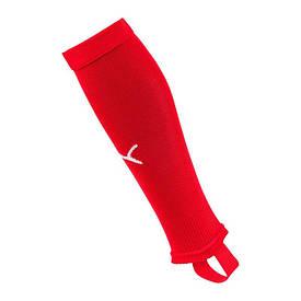 Гетры обрезки без носка Puma LIGA Stirrup красные 703439-01 (оригинал)