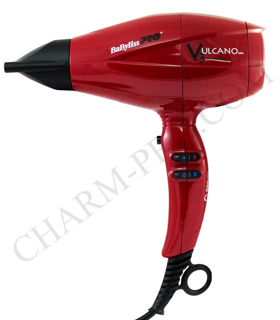 Фен для волосся Babyliss Vulcano Ionic 2200w (мод. 6180)