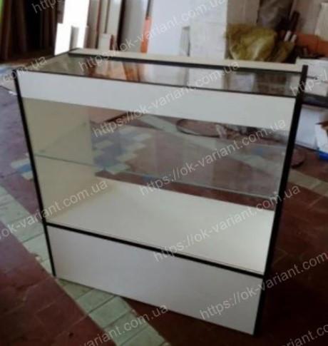 Прилавок для магазина стеклянный, фото 1