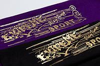 Печать золотом, серебром на ткани — заказать в типографии Триада-М