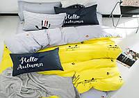 Комплект постельного белья  Мяу - мяу     Бязь Ранфорс GOLD евро
