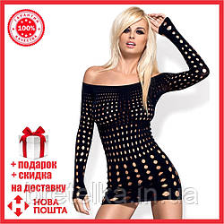 Сексуальное платье, рокерское платье черный Obsessive Польша