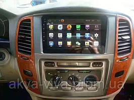 Штатная магнитола Toyota Land Cruiser 100 2005-2007на базе Android 8.1 Экран 9 дюймов Память 1/16 Гб
