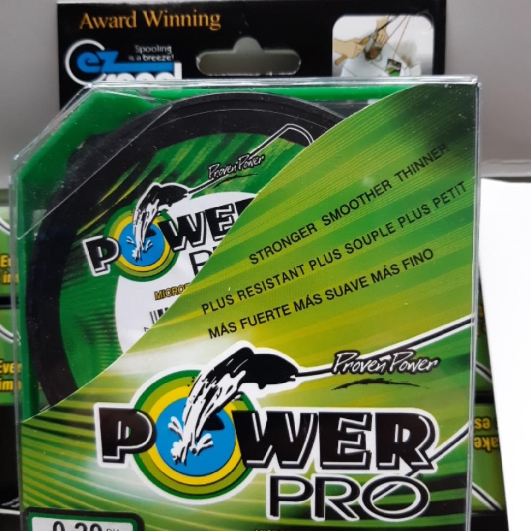 Шнур Power Pro Green 125m  d 0,2 мм