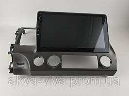 "Штатная Магнитола Honda Civic 2005-2011 г. на Android 8.1  с 10"" Экраном 1/16Память,4 ядра Процессор"