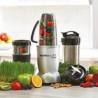 Кухонный комбайн NutriBullet Prime 12 предметов 1000W, блендер НутриБуллет, мни-комбайн, измельчитель +подарок