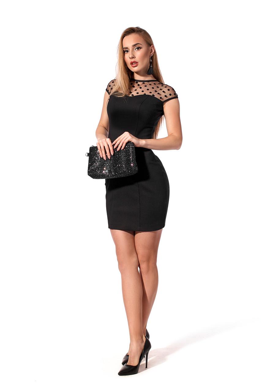 Коктейльное платье для торжественных событий.