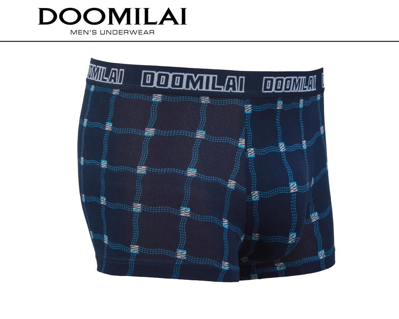 Чоловічі боксери стрейчеві з бамбука Марка «DOOMILAI» Арт.D-01305