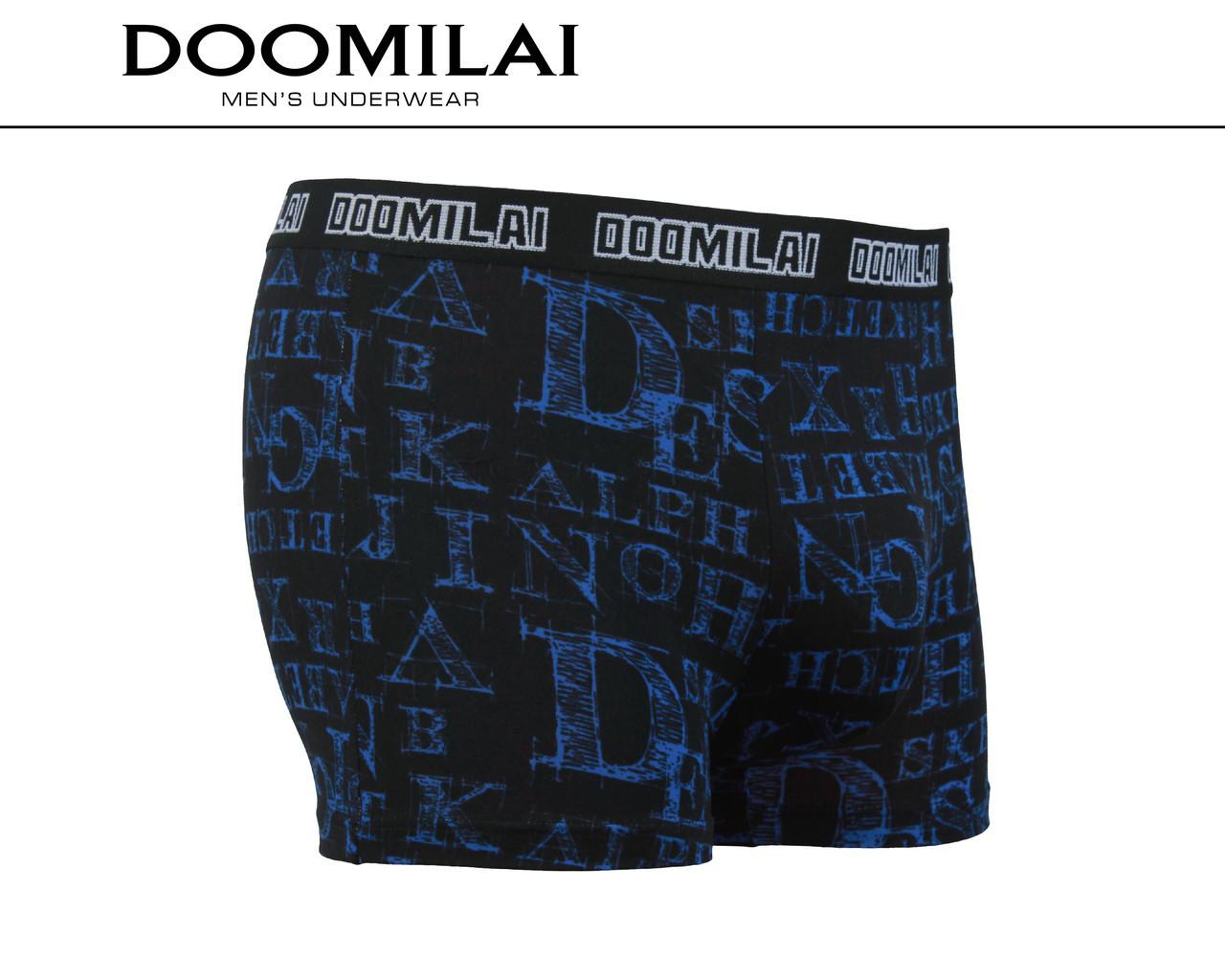 Мужские боксеры стрейчевые из бамбука  Марка  «DOOMILAI» Арт.D-01304
