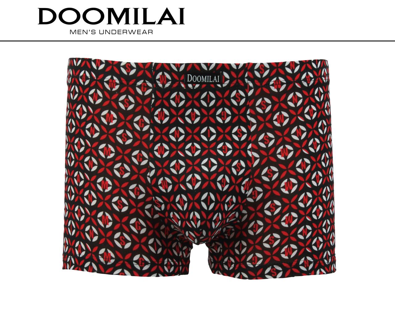 Мужские боксеры стрейчевые из бамбука  Марка  «DOOMILAI» Арт.D-01230