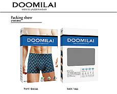 Мужские боксеры стрейчевые из бамбука  Марка  «DOOMILAI» Арт.D-01230, фото 2