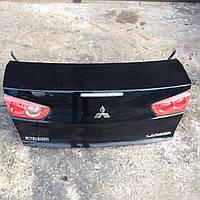 Крышка багажника Mitsubishi Lancer X б.у запчасти (оригинал) 5920A059