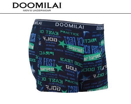 Мужские боксеры стрейчевые из бамбука  Марка  «DOOMILAI» Арт.D-01217, фото 2