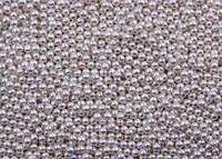 Посипка кругла срібна (d 2 мм) Італія