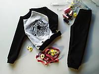 """Дитячий трикотажний костюм для хлопчика( штани і світшот) """"SPACE"""""""