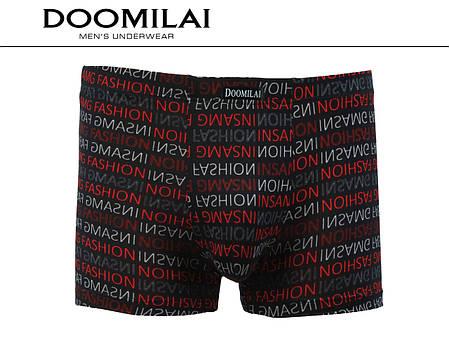Мужские боксеры стрейчевые из бамбука  Марка  «DOOMILAI» Арт.D-01221, фото 2
