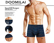 Мужские боксеры стрейчевые из бамбука  Марка  «DOOMILAI» Арт.D-01221, фото 3