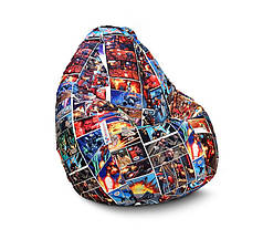 "Кресло мешок груша ""Железный человек. Модерн"""