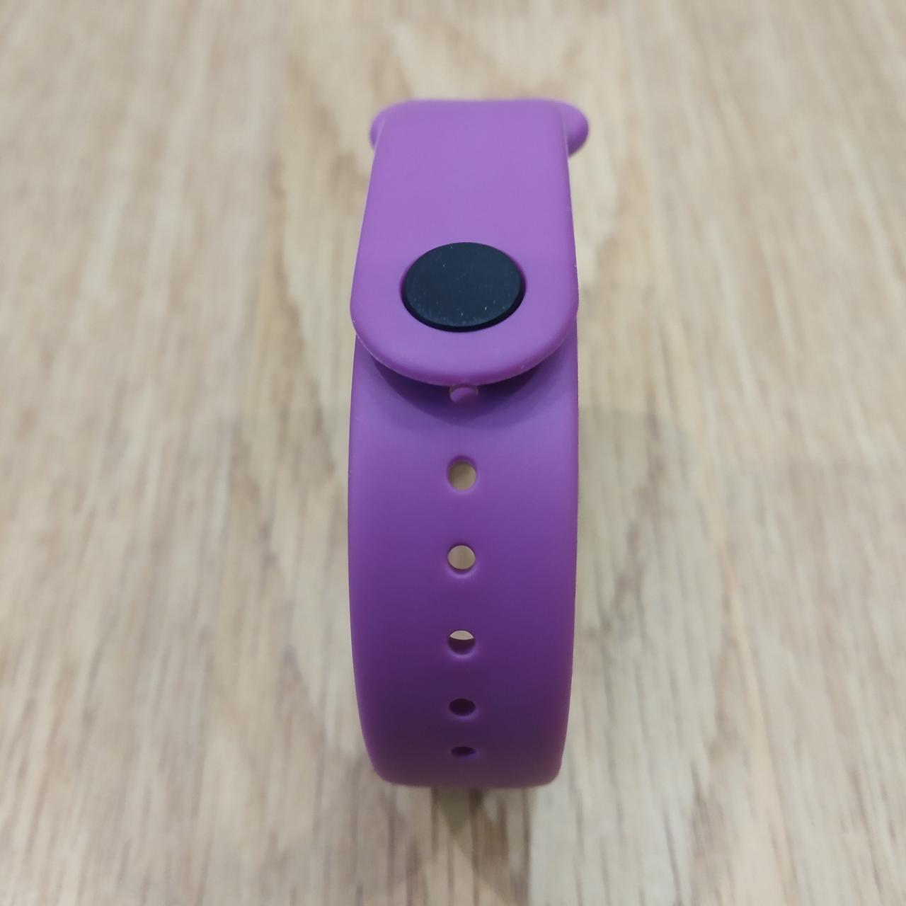 Ремешок для Фитнес-Трекера,  XIAOMI MI BAND 3 / 4 одноцветный - Purple - Фиолетовый