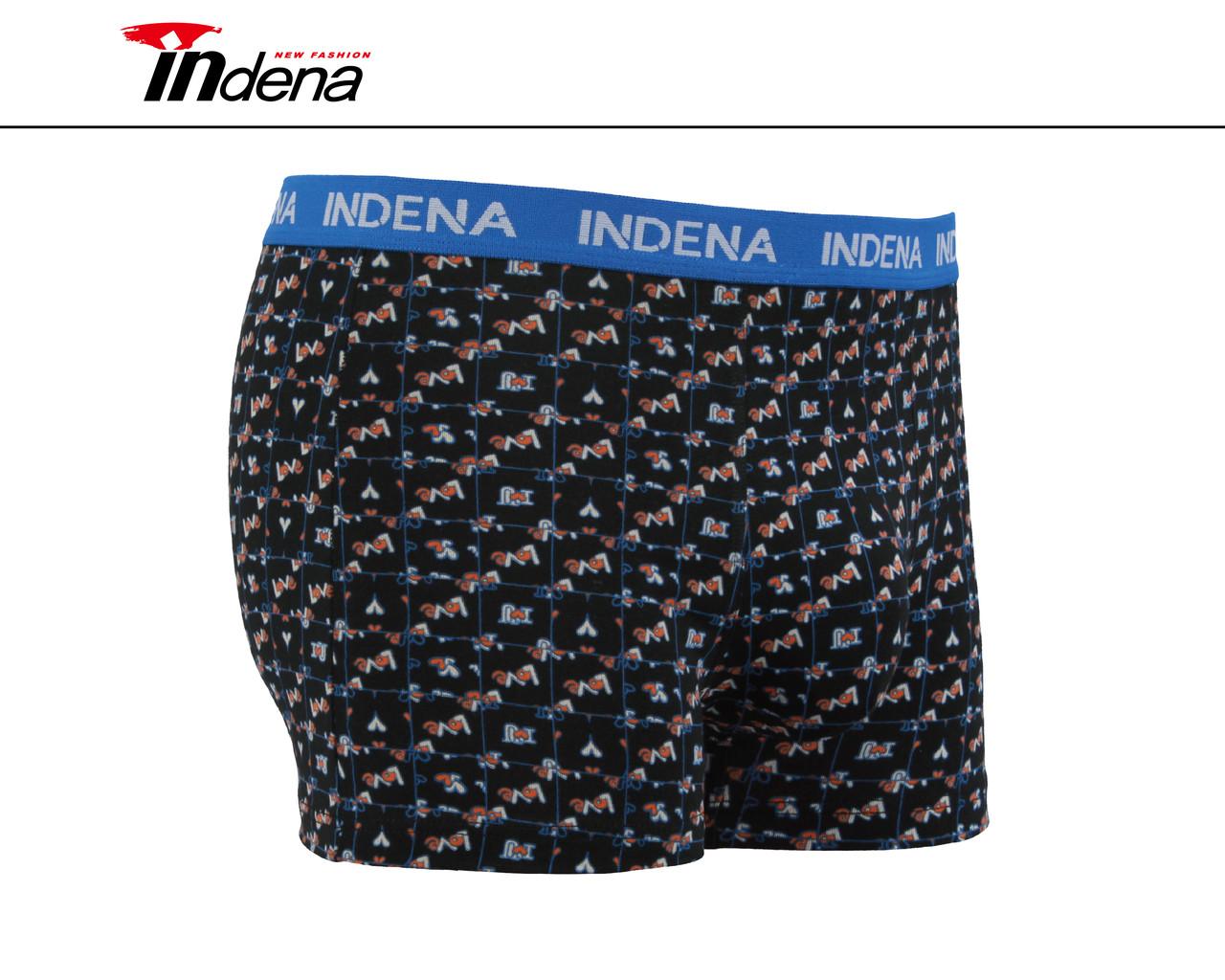 Мужские стрейчевые боксеры «INDENA»  АРТ.95114