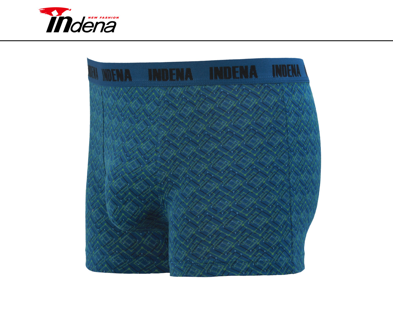 Мужские стрейчевые боксеры «INDENA»  АРТ.95034