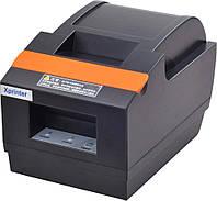 Принтер чеков с автообрезкой 58 мм Xprinter XP-Q90EC (USB+LAN)